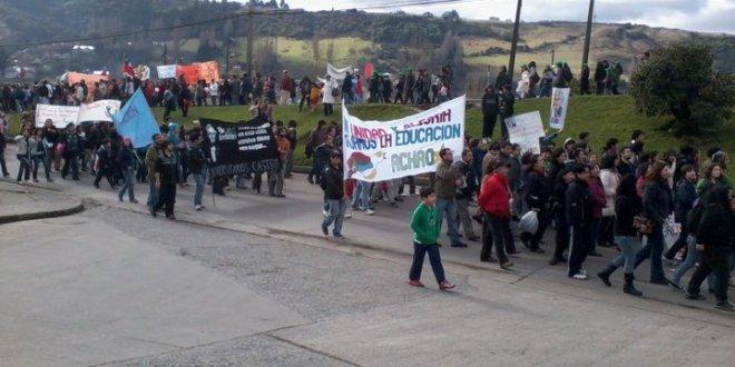 El día lunes comenzaría el paro de actividades del Colegio de Profesores de Chiloé