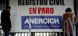 Registro Civil logra acuerdo con el Gobierno
