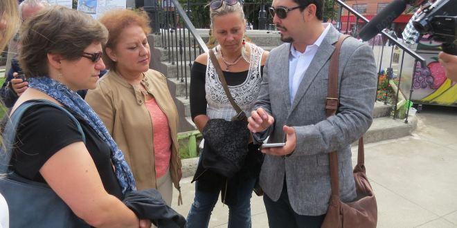 Innovadora aplicación para teléfonos celulares sirve de guía a los turistas
