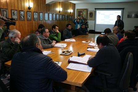 Una reunión de coordinación por incendios forestales se llevo a efecto en Castro