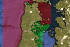 Bahía Ancud, Rio Pudeto y Caulín entre nuevas áreas libre de marea roja