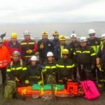 bomberos queilen rescate