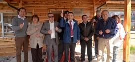 Se firmó convenio reposición de biblioteca en Palena y nuevo cuartel de bomberos