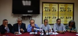 Coordinadora No + AFP presentó propuesta para un nuevo sistema previsional
